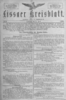Lissaer Kreisblatt.1888.04.21 Nr6