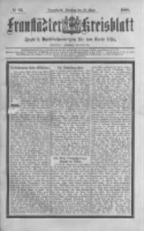 Fraustädter Kreisblatt. 1888.03.20 Nr23