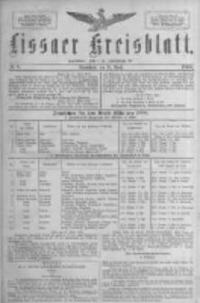 Lissaer Kreisblatt.1888.04.28 Nr8