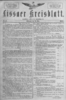 Lissaer Kreisblatt.1888.05.30 Nr17