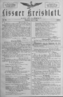 Lissaer Kreisblatt.1888.06.09 Nr20