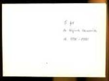 Dokumenty i zaświadczenia dra Wojciecha Skowrońskiego z lat 1913-1975