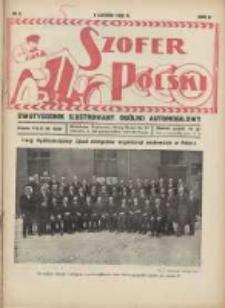 Szofer Polski: dwutygodnik ilustrowany ogólno automobilowy 1926.02.01 R.2 Nr3