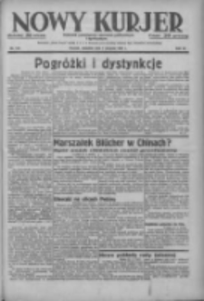 Nowy Kurjer: dziennik poświęcony sprawom politycznym i społecznym 1937.08.01 R.48 Nr174
