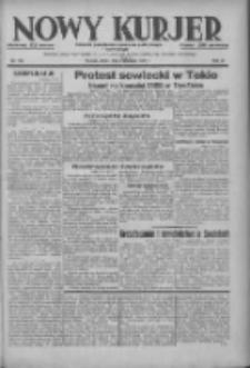 Nowy Kurjer: dziennik poświęcony sprawom politycznym i społecznym 1937.08.04 R.48 Nr176