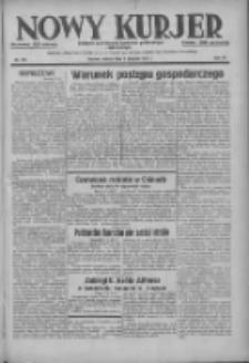Nowy Kurjer: dziennik poświęcony sprawom politycznym i społecznym 1937.08.07 R.48 Nr179