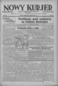 Nowy Kurjer: dziennik poświęcony sprawom politycznym i społecznym 1937.08.08 R.48 Nr180
