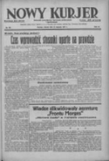 Nowy Kurjer: dziennik poświęcony sprawom politycznym i społecznym 1937.08.10 R.48 Nr181
