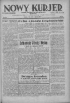 Nowy Kurjer: dziennik poświęcony sprawom politycznym i społecznym 1937.08.11 R.48 Nr182