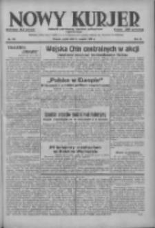 Nowy Kurjer: dziennik poświęcony sprawom politycznym i społecznym 1937.08.13 R.48 Nr184