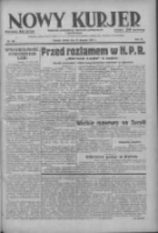Nowy Kurjer: dziennik poświęcony sprawom politycznym i społecznym 1937.08.15 R.48 Nr185