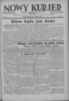 Nowy Kurjer: dziennik poświęcony sprawom politycznym i społecznym 1937.08.15 R.48 Nr186