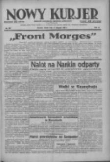 Nowy Kurjer: dziennik poświęcony sprawom politycznym i społecznym 1937.08.17 R.48 Nr187