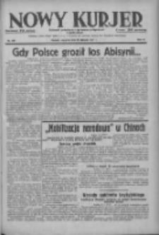 Nowy Kurjer: dziennik poświęcony sprawom politycznym i społecznym 1937.08.19 R.48 Nr189