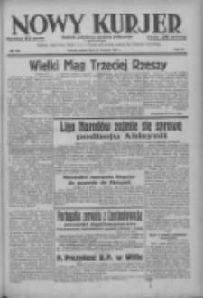 Nowy Kurjer: dziennik poświęcony sprawom politycznym i społecznym 1937.08.20 R.48 Nr190
