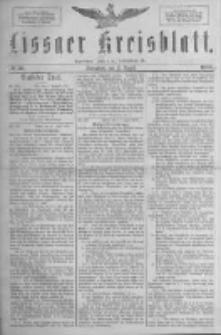 Lissaer Kreisblatt.1888.08.11 Nr38