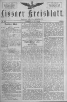 Lissaer Kreisblatt.1888.08.25 Nr42