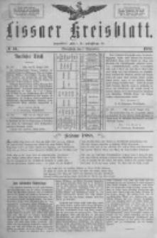 Lissaer Kreisblatt.1888.09.01 Nr44