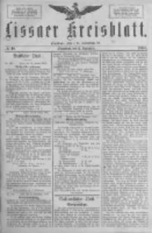 Lissaer Kreisblatt.1888.09.15 Nr48