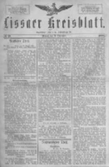 Lissaer Kreisblatt.1888.09.19 Nr49