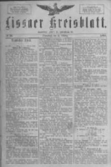 Lissaer Kreisblatt.1888.10.13 Nr56