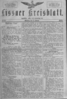 Lissaer Kreisblatt.1888.10.17 Nr57