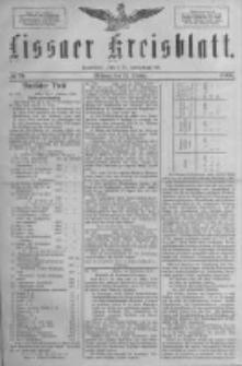 Lissaer Kreisblatt.1888.10.24 Nr59