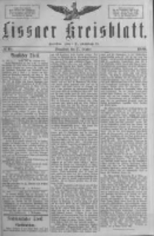Lissaer Kreisblatt.1888.10.27 Nr60