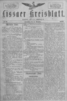 Lissaer Kreisblatt.1888.11.10 Nr64