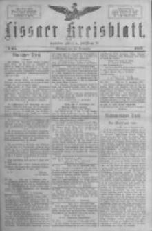 Lissaer Kreisblatt.1888.11.14 Nr65