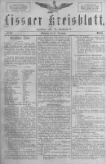 Lissaer Kreisblatt.1888.11.21 Nr67