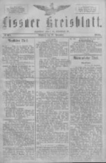 Lissaer Kreisblatt.1888.11.28 Nr69