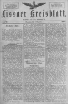 Lissaer Kreisblatt.1888.12.01 Nr70