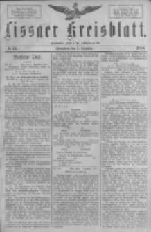 Lissaer Kreisblatt.1888.12.08 Nr72