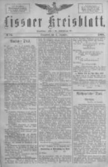 Lissaer Kreisblatt.1888.12.15 Nr74