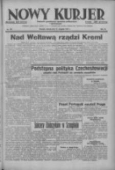 Nowy Kurjer: dziennik poświęcony sprawom politycznym i społecznym 1937.08.21 R.48 Nr191