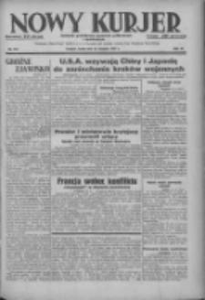 Nowy Kurjer: dziennik poświęcony sprawom politycznym i społecznym 1937.08.25 R.48 Nr194