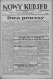 Nowy Kurjer: dziennik poświęcony sprawom politycznym i społecznym 1937.08.29 R.48 Nr198