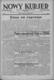 Nowy Kurjer: dziennik poświęcony sprawom politycznym i społecznym 1937.08.31 R.48 Nr199