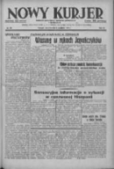 Nowy Kurjer: dziennik poświęcony sprawom politycznym i społecznym 1937.09.02 R.48 Nr201