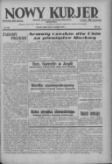 Nowy Kurjer: dziennik poświęcony sprawom politycznym i społecznym 1937.09.03 R.48 Nr202