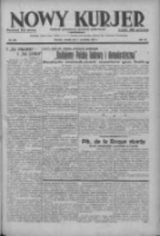 Nowy Kurjer: dziennik poświęcony sprawom politycznym i społecznym 1937.09.07 R.48 Nr205