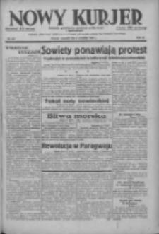 Nowy Kurjer: dziennik poświęcony sprawom politycznym i społecznym 1937.09.09 R.48 Nr207