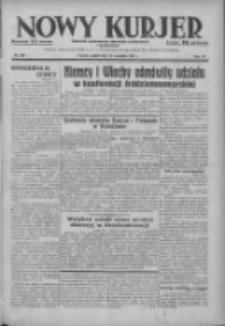 Nowy Kurjer: dziennik poświęcony sprawom politycznym i społecznym 1937.09.10 R.48 Nr208
