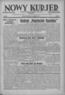 Nowy Kurjer: dziennik poświęcony sprawom politycznym i społecznym 1937.09.11 R.48 Nr209