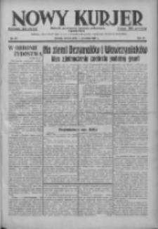 Nowy Kurjer: dziennik poświęcony sprawom politycznym i społecznym 1937.09.14 R.48 Nr211