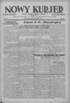 Nowy Kurjer: dziennik poświęcony sprawom politycznym i społecznym 1937.09.15 R.48 Nr212
