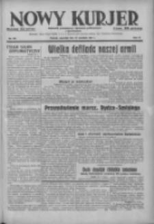 Nowy Kurjer: dziennik poświęcony sprawom politycznym i społecznym 1937.09.16 R.48 Nr213
