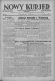 Nowy Kurjer: dziennik poświęcony sprawom politycznym i społecznym 1937.09.17 R.48 Nr214
