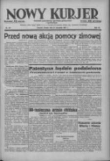 Nowy Kurjer: dziennik poświęcony sprawom politycznym i społecznym 1937.09.21 R.48 Nr217